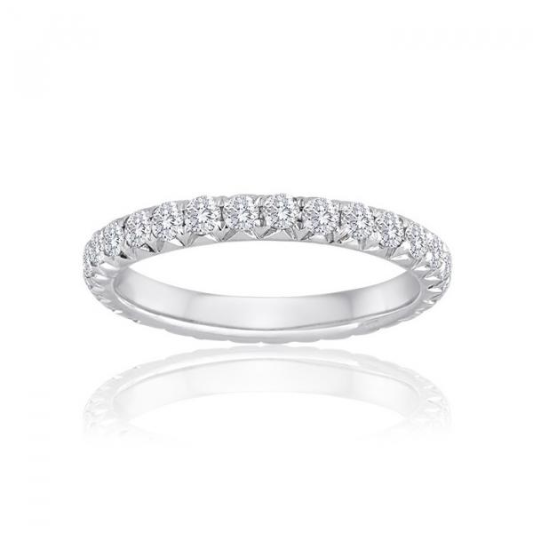 White Gold Diamond Wedding Band Sausalito Jewelers