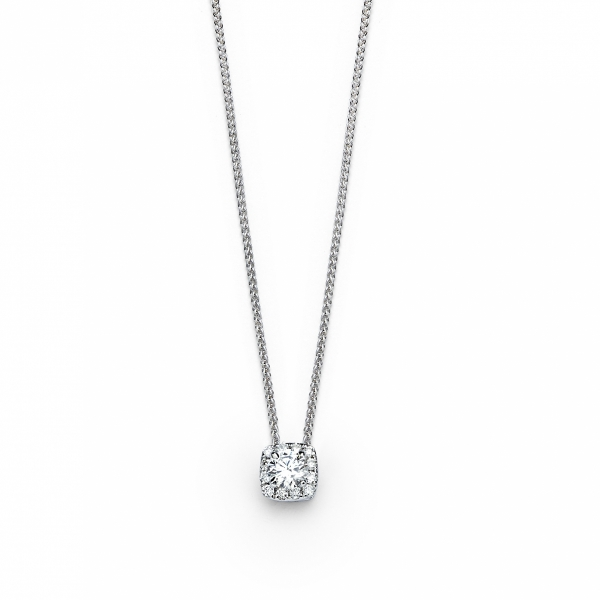 "Forevermark ""Center of My Univerce"" Halo Diamond Pendant by Forevermark"