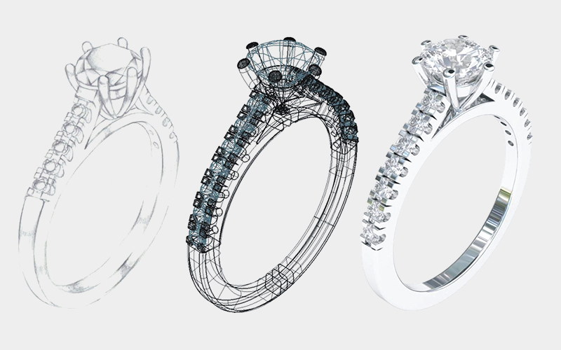Custom Jewelry Design Center Custom Engagement Rings Jewelry